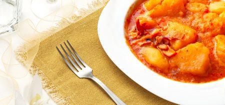 Seppie con patate e pomodoro