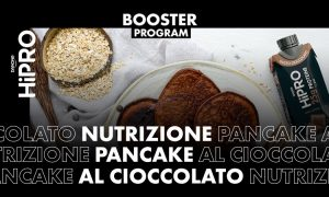 Pancake proteico al cioccolato